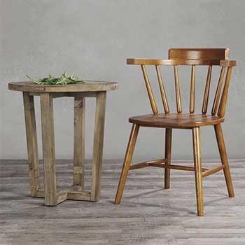 餐桌椅WJ-031温莎椅