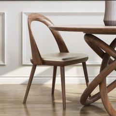 实木餐椅  WJ-520