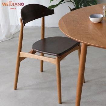 实木餐椅  WJ-117罗宾汉椅