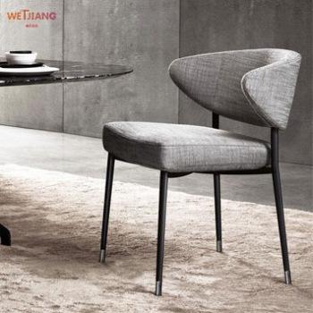 餐桌椅 WJ-028布艺餐椅