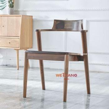 实木餐椅   WJ-166书椅
