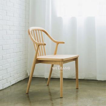 实木餐椅   WJ-075温莎椅