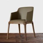 广州客户采购酒店餐椅扶手八角椅