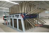 北欧实木餐椅厂家先进拼板机器