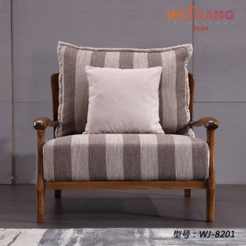 布艺休闲沙发椅  WJ-8201