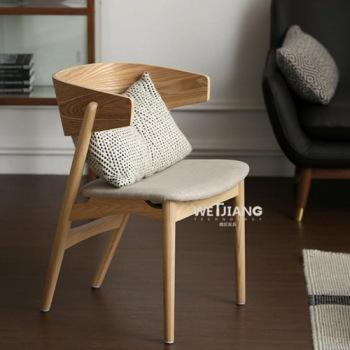 白蜡木休闲椅 WJ-080