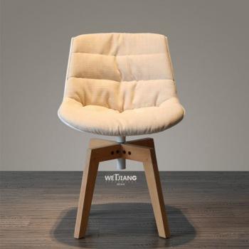 实木餐椅 WJ-183旋转椅