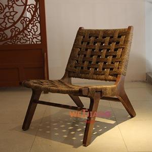 民宿编织椅- WJ-8738