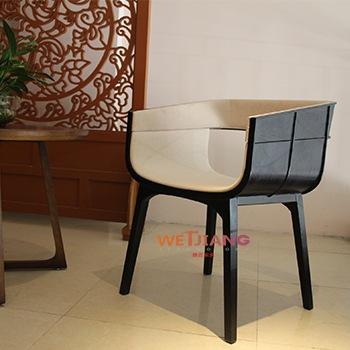 休闲靠背椅  WJ-8741
